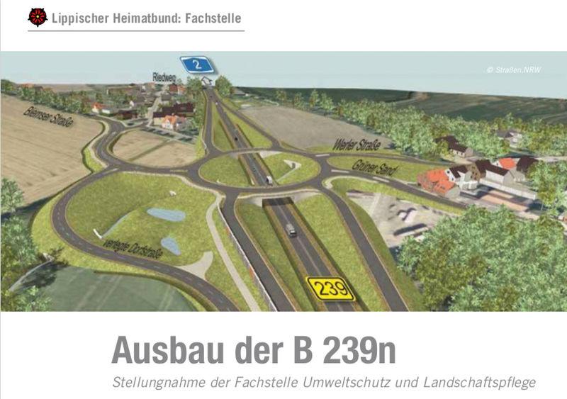 BUND begrüßt Stellungnahme des Lippischen Heimatbundes zur B239