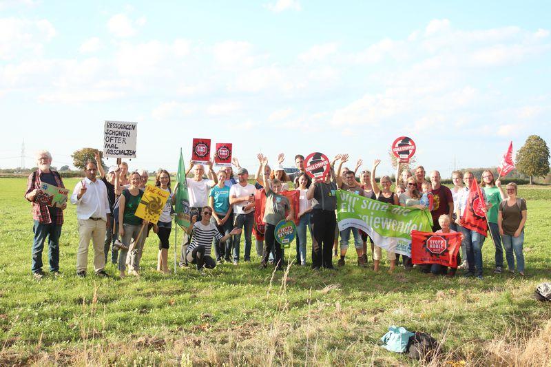"BUND Lippe im Hambacher Forst: Demo ""WALD RETTEN–KOHLE STOPPEN !"""
