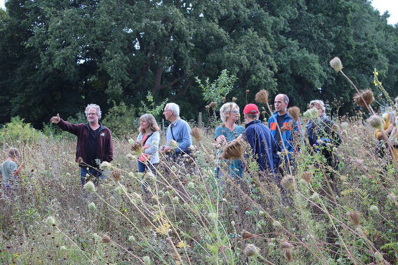 BUND Gartenbesuch in Ehrentrup am 6. September 2020